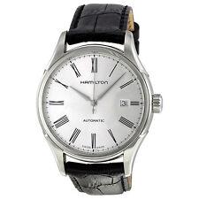 Hamilton Valiant Black Leather Mens Automatic Watch H39515754-AU