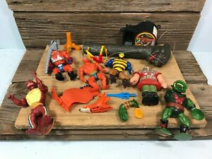 Vintage 1980s MOTU Masters of the Universe PARTS LOT READ DESCRIPTION