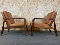 2x 60er 70er Jahre Sessel Easy Chair Loungechair Danish Modern Design 70s 60s