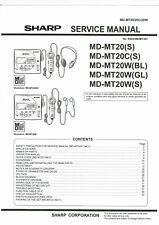 Sharp service manual  für MD-MT 20 englisch