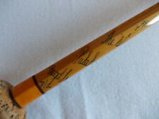 "VINTAGE 12'6"" HARDY THE ""WYE"" #9 Palakona Cane Rod + Spare Tip -- Excellant Rod!"