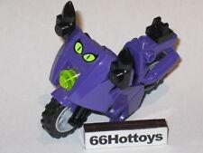 LEGO Batman 7779 Catwoman Purple Motorcycle Minifigure New