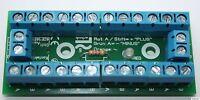 Bausatz Stromverteiler Modellbahn mit Status LED - 30V AC/DC Verteiler