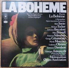 Puccini : La Bohème - Highlights - Metropolitan Opera - CBS 30068 - UK 1974