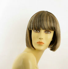 short wig for women light blond light copper wick and chocolat ref elisa 15613H4