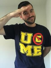 John Cena U Can't See Me WWE Mens Navy Blue T-shirt