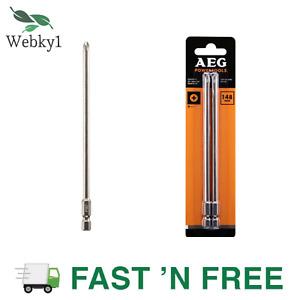 AEG 148mm Drill Bit Set 2 Packs Timber Wood Solid Metal Steel Screw Gun BitsTool