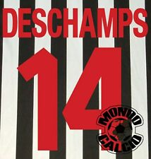DESCHAMPS KIT JUVENTUS HOME NAME SET PERSONALIZZAZIONE NOME NUMERO KAPPA 1998-99