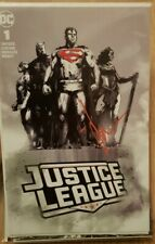 Justice League #1 Signed By Jock B&W Variant NM