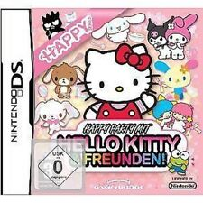 NINTENDO DS DSI LITE KL Juego HAPPY PARTY con Hello Kitty & Y Amigos NUEVO