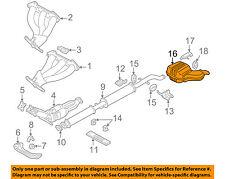 VOLVO OEM 02-04 S80 2.9L-L6-Muffler 8671379