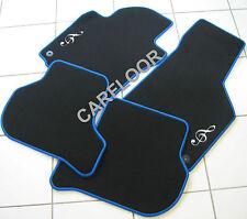 Für Toyota Auris Fußmatten Velours Deluxe schwarz Motiv Notenschlüssel gest.