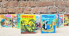 Set 12 Big Little Books - Minty NOS - #5768-5779 - Batman, Mickey Mouse and ...