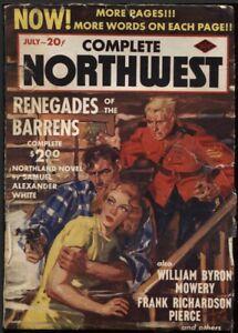Complete Northwest. 1939 July.     Pulp