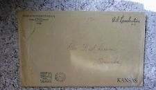1934 Kansas Representative William P. Lambertson Free Frank Envelope