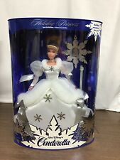 Nib 1996 Cinderella Holiday Princess Barbie