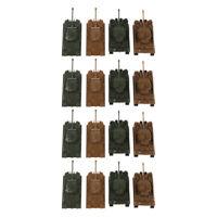16tlg Plastik Militär Panzer Armee Figuren Kinder Spielzeug für Geschenk