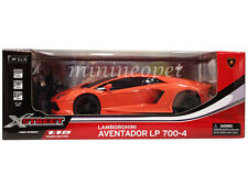 XQ 1816 R/C RADIO REMOTE CONTROL CAR LAMBORGHINI AVENTADOR LP 700-4 1/18 ORANGE