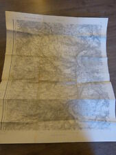 carte d'état major  evreux ww2            (c6)