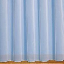 "Fire Retardant EVE WHITE Net Curtain 1 Roll 20 meters Slot Top Header  42/"" Drop"