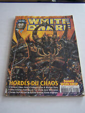MAGAZINE WHITE DWARF , JEUX GAMES WORKSHOP ET FIGURINES N° 98 . BON ETAT .