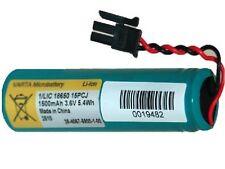 2-Pack 3.7 Volt Varta Li-Ion 18650 Batteries 1500 mAh with PCB & Molex Connector