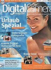 Zeitschrift DigitalCamera Magazin Heft 08/2003