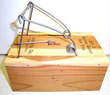 6 Pack Traps - Gopher Getter Wood Box Trap Gopher Trap Model DK-2
