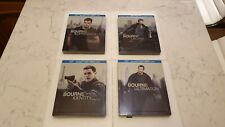 The Bourne Identity + Supremacy + Ultimatum + Legacy (Blu-ray SteelBooks) (USA)