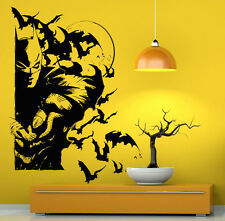 Batman Wall Vinyl Decals Dark Knight Sticker Comics Art Removable Decor (9jbat)