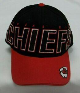 Kansas City Chiefs Adjustable Strap Hat By Reebok - OSFA - New
