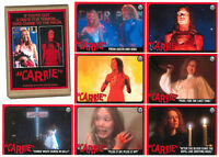 CARRIE 1976 34 Trading Cards Set HANDMADE ART WOOOKA Stephen King HORROR Spacek