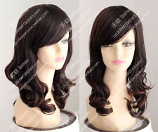 CHENSW47  good style long wavy  brown lady's hair wigs for women wig