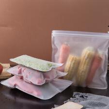 Réutilisable Silicone Épais alimentaire sac de rangement congélateur Seal frais ...