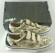 CHILDRENS BOYS O'NEILL CANVAS TRAINERS SKATERS UK 5