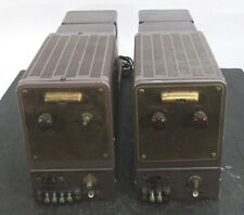 VINTAGE THE FISHER 80-AZ MONO TUBE AMPLIFIER PAIR
