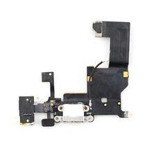 iPhone 5 WHITE Dock Charging Port Headphone Jack & Mic Flex UK  STOCK