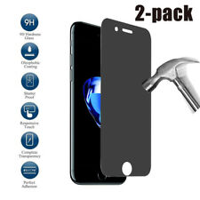 2-Pack Privacy Screen Protector for iPhone 6 6S 7 Plus 8 Anti-Spy Tempered Glass