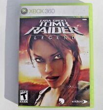 Lara Croft: Tomb Raider - Legend (Microsoft Xbox 360 2006) COMPLETE, GOOD COND