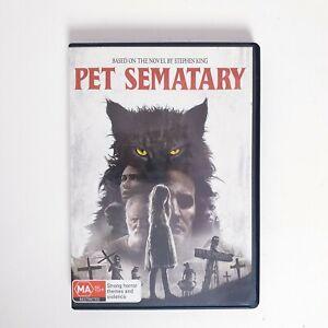 Pet Sematary (2019) DVD Region 4 AUS Free Postage - Horror