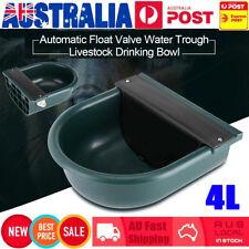 4L Automatic Float Valve Water Trough Bowl Stock Farm Horse Cow Dog Drink Auto