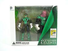 "SDCC 2012 Comic Con DC Universe Green Lantern Kyle Rayner & Kilowog 4"" Graphitti"
