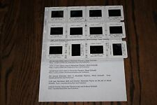 ABOUT SCHMIDT - 12 press kit slides Jack Nicholson Kathy Bates Dermot Mulroney