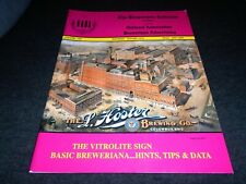 Beer History Book- Vitrolite Signs, Stroh's Beer Labels & Lithos, Detroit Mich