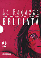3806386 791980 Libri Kantetsu / Satomi Yuu - La Ragazza Bruciata. Box