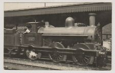 London postcard - Willesden Junction - Locomotive in the Station - RP