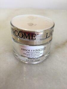 New and Fresh Lancome Absolue Premium Night Cream ---- 0.5oz/ 15ml