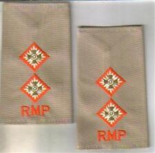 ROYAL MILITARY POLICE 1ST LT  DESERT rank epaulettes