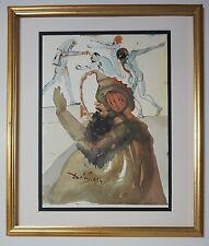 """Original 1967 Salvador Dali Biblia Sacra """"Ioseph et Fratres"""" Signed - COA"""