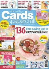 Simply Cards & Papercraft Magazine Issue 161 - All Occasion Folder & Stamps